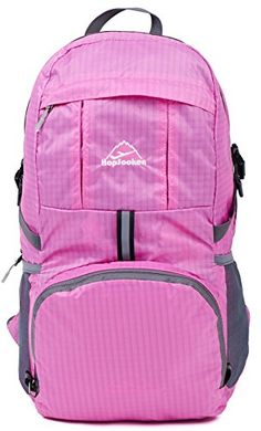 Hopsooken 30L Ultra Lightweight Travel Water Resistant Packable Backpack for Hiking Cycling Sports Daypack Backpack / Ultralight and Handy + Lifetime Warranty (Pink) HOPSOOKEN http://www.amazon.com/dp/B018THCK58/ref=cm_sw_r_pi_dp_Yp7axb14RP0VA