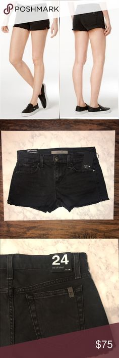 NWT Joes Jeans Cut Off Short Black Denim Shorts! Never been worn! NWT! Great quality shorts! Make an offer - willing to negotiate price! Joe's Jeans Shorts Jean Shorts