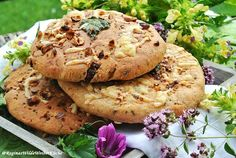 Wildkräuter Focaccia Kraut, Salmon Burgers, Herbalism, Ethnic Recipes, Food And Drinks, Health And Fitness, Berries, Fruit, Woodland Forest