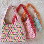 Mini tote bags –  finally finished