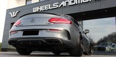 Mercedes C63 AMG mit Stratrack upgrade auf 680PS durch geänderte Turbolader, Software, Luftfilter und Auspuffanlage Mercedes C63 Amg, C 63 Amg, Software, Cutaway, Air Filter