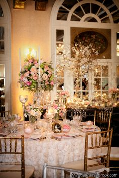 Astor Ballroom at The St. Regis Washington D.C. Photography by Laura Ashbrook, Planning/Design by Table 6 Productions, Floral/Decor by Janet Flowers