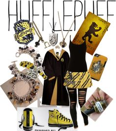"""Hufflepuff..."" by jinxxluver on Polyvore"