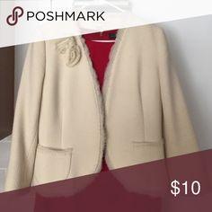 Banana Republic cream jacket Blazer for work Banana Republic Jackets & Coats