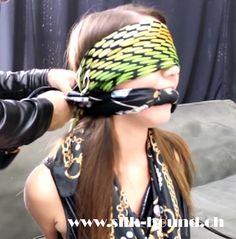 #scarfbondage #blindfold #scarffetisch #silkgag #silk-bound #silkbondage #scarf