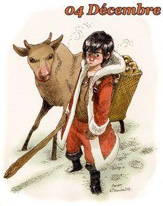 Boulet -> A quoi ressemblait le père Noël enfant?