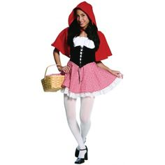 Red Hot Riding Hood | Red Hot Riding Hood Costume Teen/Junior Girls Cat Product Description