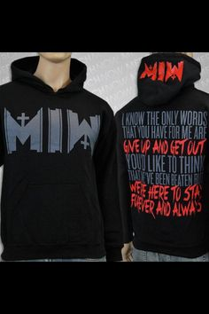 Motionless In White hoodie. Anyone want to buy this for me??