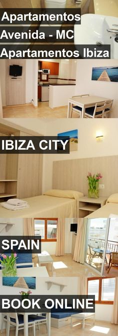 Hotel Apartamentos Avenida - MC Apartamentos Ibiza in Ibiza City, Spain. For more information, photos, reviews and best prices please follow the link. #Spain #IbizaCity #ApartamentosAvenida-MCApartamentosIbiza #hotel #travel #vacation