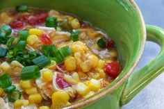 Spicy Chicken Corn Chowder Meal Planning Monday