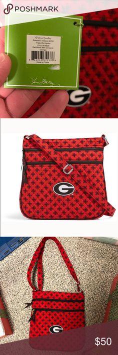 100e339d73 Spotted while shopping on Poshmark  Vera Bradley UGA Georgia hipster purse  bag NWT new!