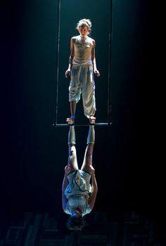 Duo trapeze. Les 7 d