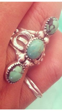 turquoise 3 sisters ring by Spell and the Gypsy Collective ♥✤ | Keep the Glamour | BeStayBeautiful