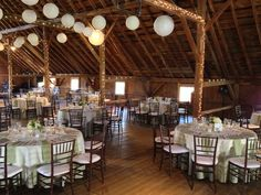 Wedding ceremonies can be held in any one of three meadows adjacent to The Skinner Barn before moving inside for the reception.