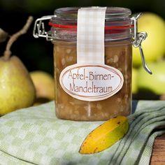 Apfel-Birnen-Mandeltraum