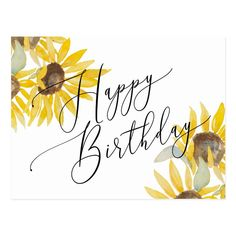Calligraphy Birthday Card, Watercolor Birthday Cards, Birthday Card Drawing, Calligraphy Cards, Watercolor Cards, Happy Birthday Typography, Watercolour, Bday Cards, Kids Birthday Cards