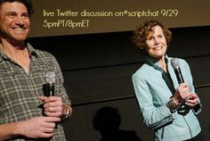 Join Judy Blume and Lawrence Blume on Twitter Sunday Sept 29 8pmET/5pmPT #scriptchat
