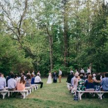 Hollyn And Matt Married In The White Garden At Daniel Stowe Botanical Garden Photo By All Bliss