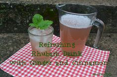 Rhubarb with Ginger and Cinnamon