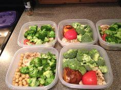 Jamie Eason meal prep week 1