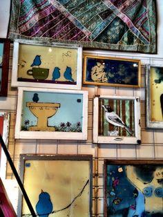 Jess Vogel, Art and Salvage, Salida,CO Salida Colorado, Original Art, Gallery Wall, Joy, Culture, The Originals, Business, Frame, Picture Frame