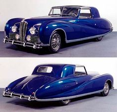 Delahaye 175 was an automobile manufactured by Delahaye between 1947 and The last of the large Delahayes, the type 175 was essentially a brand new chassis and engine. Vintage Cars, Antique Cars, Motos Vintage, Automobile, Roadster, Classy Cars, Citroen Ds, Amazing Cars, Hot Cars