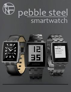 Look Fashionable with Pebble Steel Smartwatch