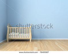 BB - kids room - stock photo