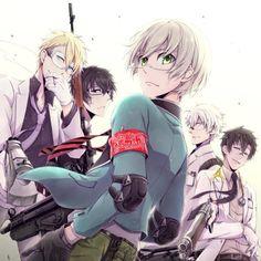 aoharu x kikanjuu  I ❤️❤️❤️ this anime!!!
