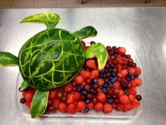 The Re-purposed Pumpkin: Watermelon Sea Turtle