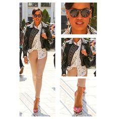 Selita Ebanks in Versace for H