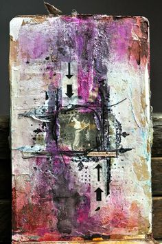 art. journal- mix media