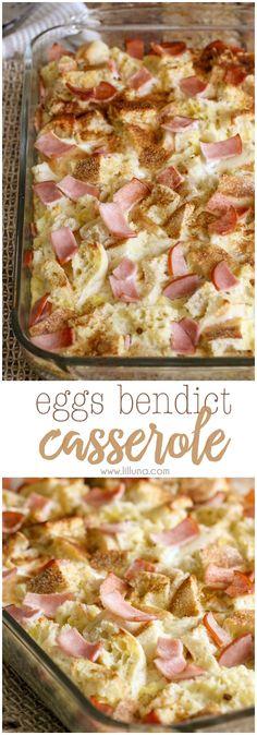 Eggs Benedict Casser