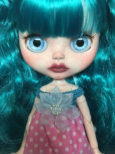 Custom Blythe Doll named Waverly by EmmyB.lythe by EmmyBlythe