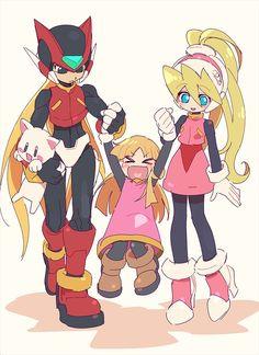 Zero, Allouette, and Ciel - Megaman Zero