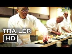 We dare you to watch this movie and NOT crave sushi afterwards! Jiro Dreams of Sushi #SushiLove #Movie #Trailer