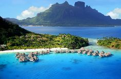 Nui Resort, Bora Bora This is where we are going once We win the lotto tonight ;) @Glenda Mendez @Becky Larriu ;)