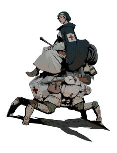 ArtStation - WW1 Nurse, Guillaume Menuel  ★ || CHARACTER DESIGN REFERENCES (https://www.facebook.com/CharacterDesignReferences & https://www.pinterest.com/characterdesigh) • Love Character Design? Join the Character Design Challenge (link→ https://www.facebook.com/groups/CharacterDesignChallenge) Share your unique vision of a theme, promote your art in a community of over 30.000 artists! || ★