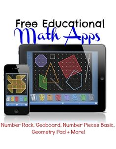 Free Educational Math Apps for iTunes and Android