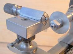 Utility Set For The Watchmakers Lathe. in Horological Tools Forum Metal Lathe Tools, Metal Working Tools, Lathe Projects, Metal Projects, Wood Turning, Turning Tools, Machinist Tools, Precision Tools, Lathe Machine