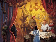 cover art of Knife of Dreams by Robert Jordan