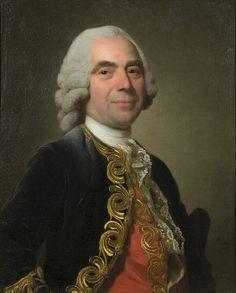 Alexander Roslin: Portrait of a Cavalier. 1766.