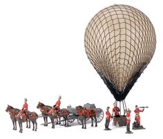 Marktime - Observation Balloon Of The Royal Engineers Set | Vectis Toy Auctions