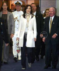 February 2005 arriving in Sydney for Australian tour