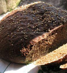 Pane di segale ai semi di sesamo - #ricetta #pasqua