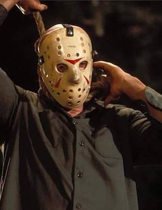 Friday the 13th - Part III Jason Friday, Friday The 13th, All Horror Movies, Scary Movies, Jason X, Monster Squad, Horror Icons, Horror Art, Famous Monsters