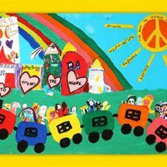 tovima.gr - Βραβεία UNICEF: Τα παιδιά ζωγραφίζουν τα δικαιώματά τους Crafts For Kids, Children Crafts, In Kindergarten, Kids Rugs, Activities, Diversity, November, Decor, Crafts For Children