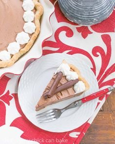 Classic French Silk Pie | The most decadent, dreamy chocolate pie you'll ever eat!
