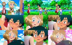 Ash x Serena Pokemon People, Pokemon Pins, Pokemon Images, Powerful Pokemon, Pokemon Ash And Serena, Ashes Love, Pokemon Movies, We Make Up, Anime Couples