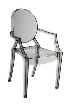 Bentley Smoke Arm Dining Chair
